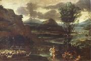 Domenichino Herminia with the Sheperds (mk05) painting
