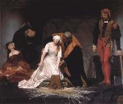 Jean Auguste Dominique Ingres The Execution of Lady Jane Grey (mk04) china oil painting artist