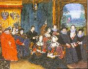 Lockey, Rowland Sir Thomas More with his Family oil