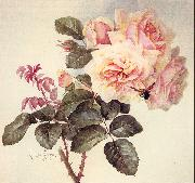 Longpre, Paul De Roses painting