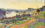 Luce, Maximilien The Seine at Herblay oil on canvas