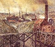 Meunier, Constantin In the Black Country oil on canvas