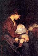 Nourse, Elizabeth The Mother oil painting artist