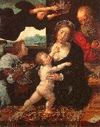 Orlandi, Deodato Holy Family painting