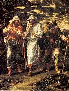 Orsi, Lelio The Walk to Emmaus oil on canvas