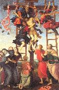 PERUGINO, Pietro The Deposition from the Cross china oil painting artist