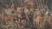 Paolo di Dono called Uccello The Battle of San Romano (mk05) oil on canvas