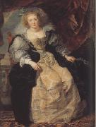Peter Paul Rubens Helena Fourment Seated on a Terrace (mk01) painting