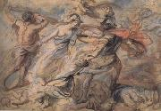 Peter Paul Rubens Hercules and Minerva Fighting Mars (mk01) painting