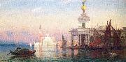 Picknell, William Lamb The Grand Canal with San Giorgio Maggiore oil on canvas