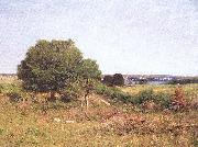 Picknell, William Lamb View from a Meadow oil on canvas