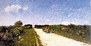 Picknell, William Lamb Road to Concarneau oil on canvas