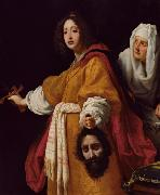 ALLORI  Cristofano Judith with the Head of Holofernes (mk08) oil on canvas