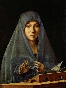 Antonello da Messina Virgin Annunciate (mk08) oil painting reproduction
