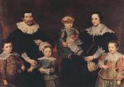 Cornelis de Vos The Family of the Artist (mk08) oil on canvas