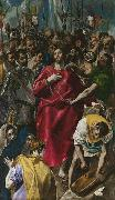 El Greco The Despoiling of Christ (mk08) oil on canvas