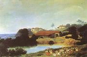 Frans Post Hacienda (mk08) painting