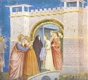 GIOTTO di Bondone Anna and Joachim Meet at the Golden Gate (mk08) oil painting reproduction