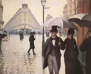 Gustave Caillebotte Paris Street A Rainy Day (mk09) oil painting reproduction