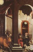 Hans Baldung Grien The Nativity (mk08) oil painting reproduction