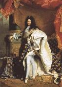 Hyacinthe Rigaud Portrait of Louis XIV (mk08) oil