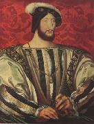 Jean Clouet Portrait of Francis I,King of France (mk08) oil painting