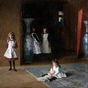 John Singer Sargent The Daughters of Edward Darley Boit (mk09) china oil painting artist