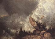 Joseph Mallord William Turner Avalanche in the Grisons (mk10) oil on canvas