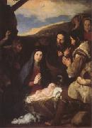 Jusepe de Ribera The Adoration of the Shepherds (mk05) oil painting reproduction
