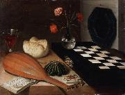 Lubin Baugin Still Life with Chessboard (mk08) oil painting