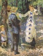 Pierre-Auguste Renoir The Swing (mk09) oil