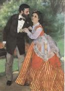 Pierre-Auguste Renoir The Painter Sisley and his Wife (mk09) oil