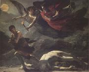 Pierre-Paul Prud hon Justice and Divine Vengeance Pursuing Crime (mk05) oil on canvas