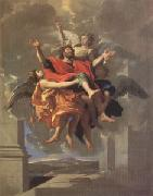 Poussin Ecstasy of ST Paul (mk05) oil painting reproduction