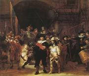 REMBRANDT Harmenszoon van Rijn The Night Watch (mk08) oil painting reproduction