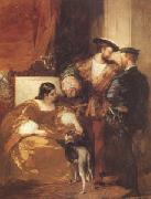Richard Parkes Bonington Francis Iand the Duchess of Etampes (mk05) oil