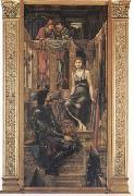 Sir Edward Coley Burne-Jones King Cophetu and the Beggar Maid (mk09) oil painting reproduction