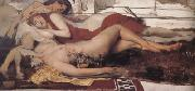 Alma-Tadema, Sir Lawrence Exhausted Maenides (mk23) oil painting reproduction