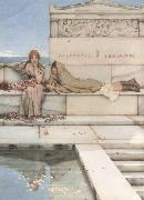 Alma-Tadema, Sir Lawrence Xanthe and Phaon (mk23) painting