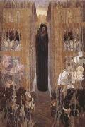 Carlos Schwabe Pain (mk19) oil on canvas