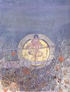 Charles Rennie Mackintosh Harvest Moon (mk19) oil