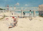 Charles conder Holiday at Mentone (nn02) painting
