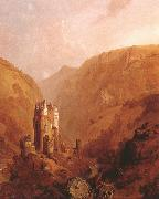 Clarkson Frederick Stanfield Burg Eltz (mk22) oil on canvas