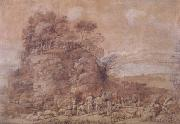 Claude Lorrain Sermon on the Mount (mk17) oil painting reproduction