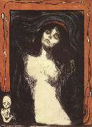 Edvard Munch Madonna (mk19) oil painting reproduction