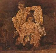 Egon Schiele The Family (mk20) oil painting reproduction