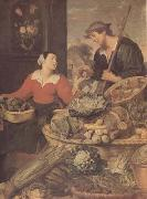 Frans Snyders detail Fruit and Vegetable Stall (mk14) oil painting reproduction