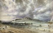 John Constable Old Sarum (mk22) painting