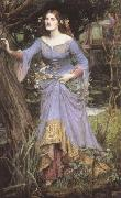 John William Waterhouse Ophelia (mk19) painting