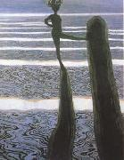 Leon Spilliaert The Posts (mk19) oil on canvas